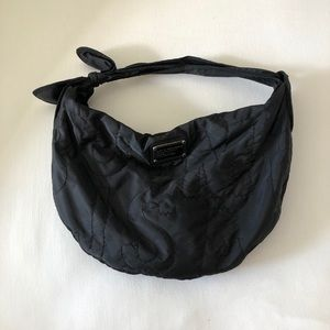 Marc by Marc Jacobs Black Nylon Hobo Bag